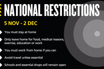 National lockdown restrictions