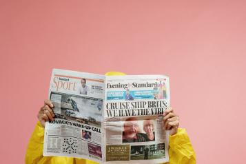 Look after yourself when reading the news