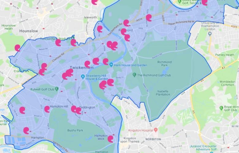 Outreach Map