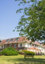 frontage of hampton care home