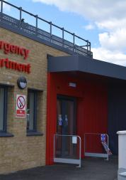 Kingston A&E entrance